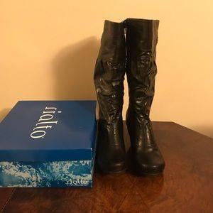 Black Rialto Boots